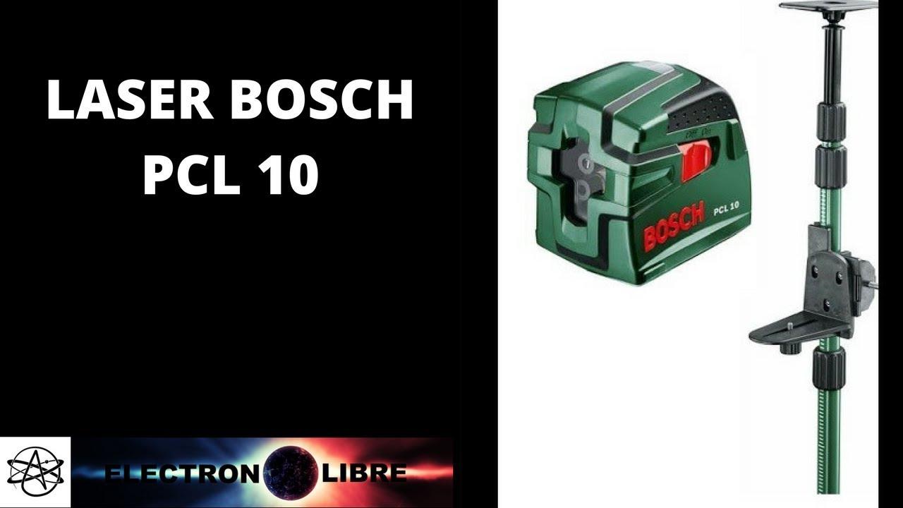 Niveau Laser Bosch Pcl 10 Tige Télescopique Tp 320