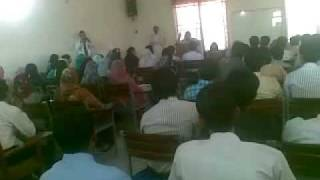 Tehmina Doltana in Vehari Comsats University.mp4