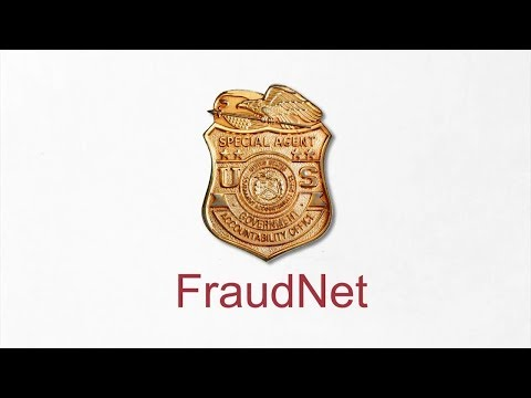GAO: FraudNet – Reporting Fraud, Waste, Abuse, and Mismanagement of Federal Funds