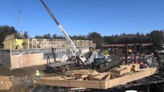 Time lapse video of the Cumberland Farms project in Johnston RI.