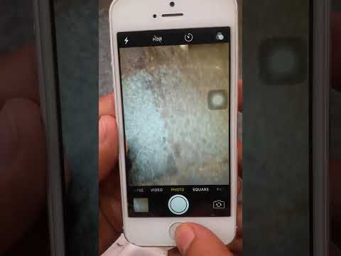 How to mute iphone camera sound.