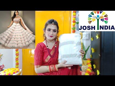 Beautiful White Lehenga Choli / #JoshIndia / SWATI BHAMBRA