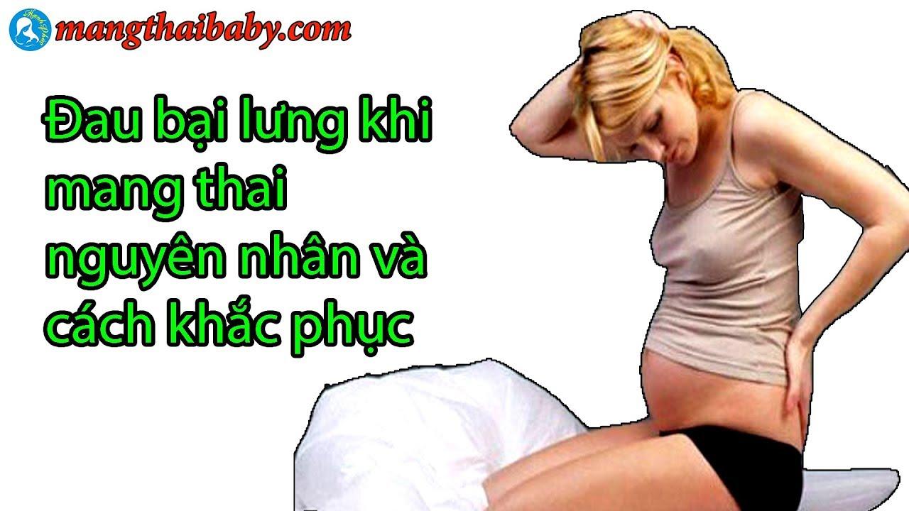 Nguyên nhân đau bại hông và đau lưng khi mang bầu và cách khắc phục | mangthaibaby.com