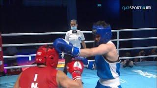 Бокс. Азия чемпионаты. Финал. 51 кг. Назым Қызайбай - жеңімпаз