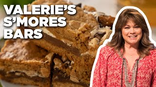 Valerie Bertinelli's Chocolate Peanut Butter S'mores Bars | Valerie's Home Cooking | Food Network