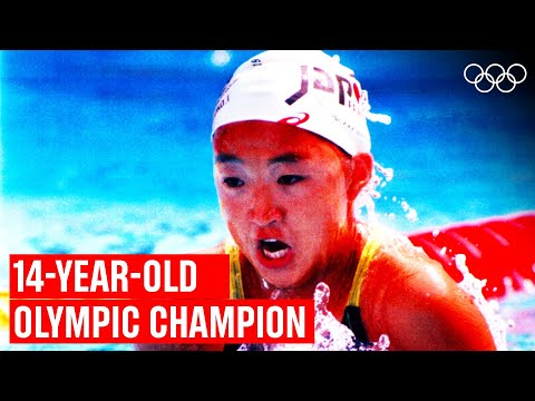Youngest Swimmer EVER To Win Olympic Gold! 🥇 🏊🏻♂️
