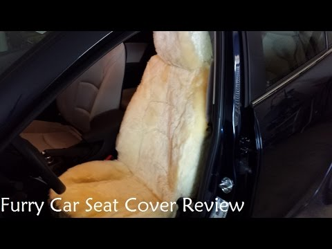 Furry Car Seat Cover Review
