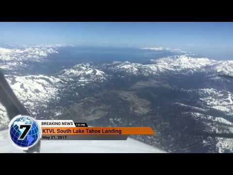 Unbelievable video of Kingair Landing in South Lake Tahoe airport