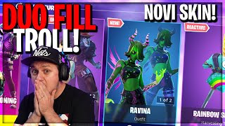 🔴NOVI **RAVINA** SKIN I THE GOOD DOCTOR U SOP! DUO FILL TROLL I DUO ARENA!!