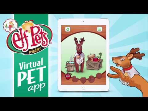 Elf Pets® Virtual Reindeer — The Elf on the Shelf®