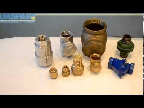 Обратные клапаны муфтовые, муфтовый обратный клапан видео обзор от UKSPAR