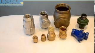 Обратные клапаны муфтовые, муфтовый обратный клапан видео обзор от UKSPAR(Купить муфтовые обратные клапаны по ссылке http://ukspar.ua/147-obratnye-klapany.htm на нашем сайте или по тел. (044) 563-33-00. Клапа..., 2014-07-02T10:04:08.000Z)
