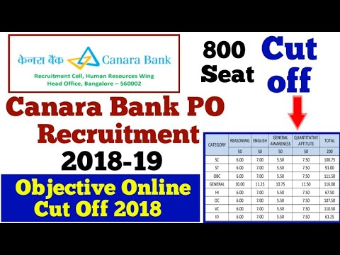 canara bank po recruitment 2018 exam pattern