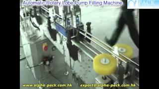 Automatic Rotary Lobe Pump Filling Machine AFM-860A