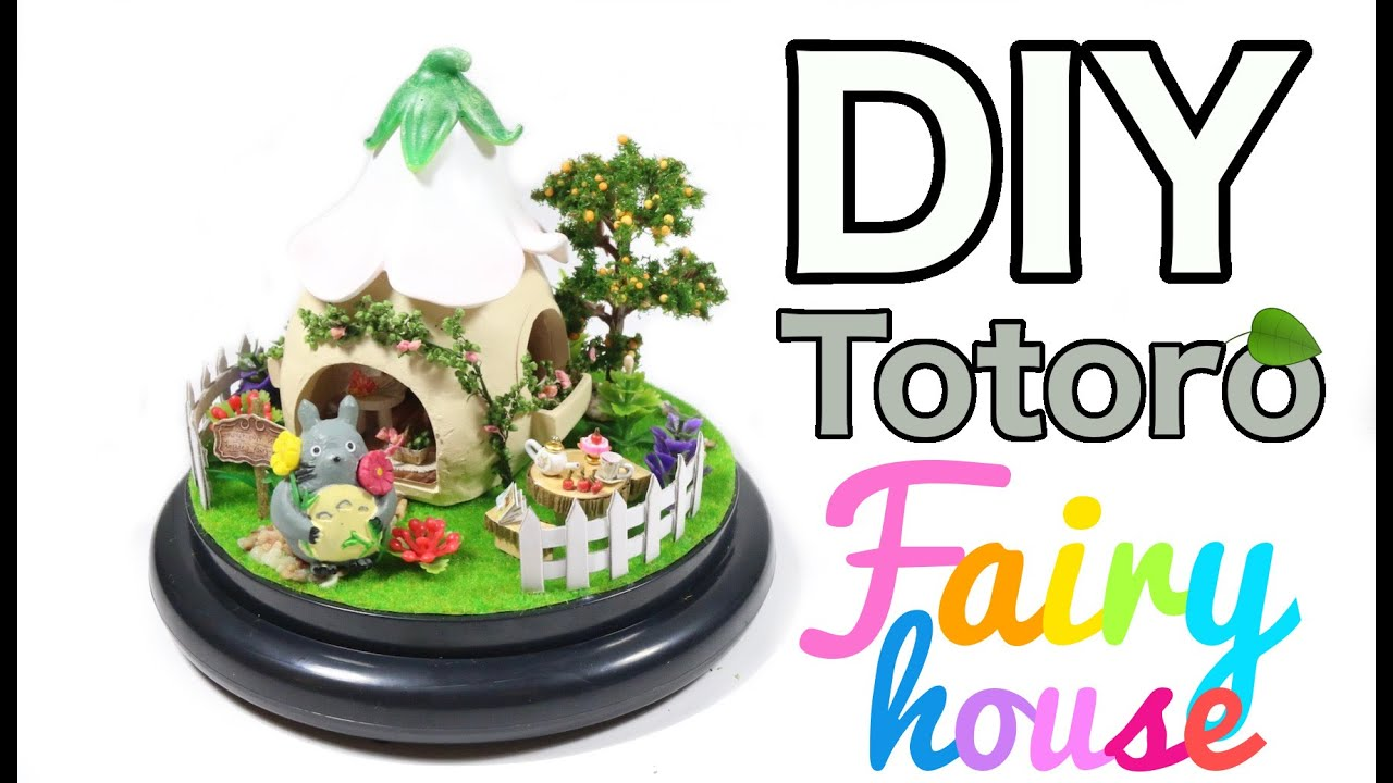 how to make fairy houses youtube