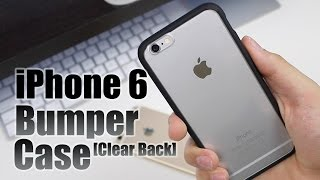 iPhone 6/6s Bumper Case with Clear Back