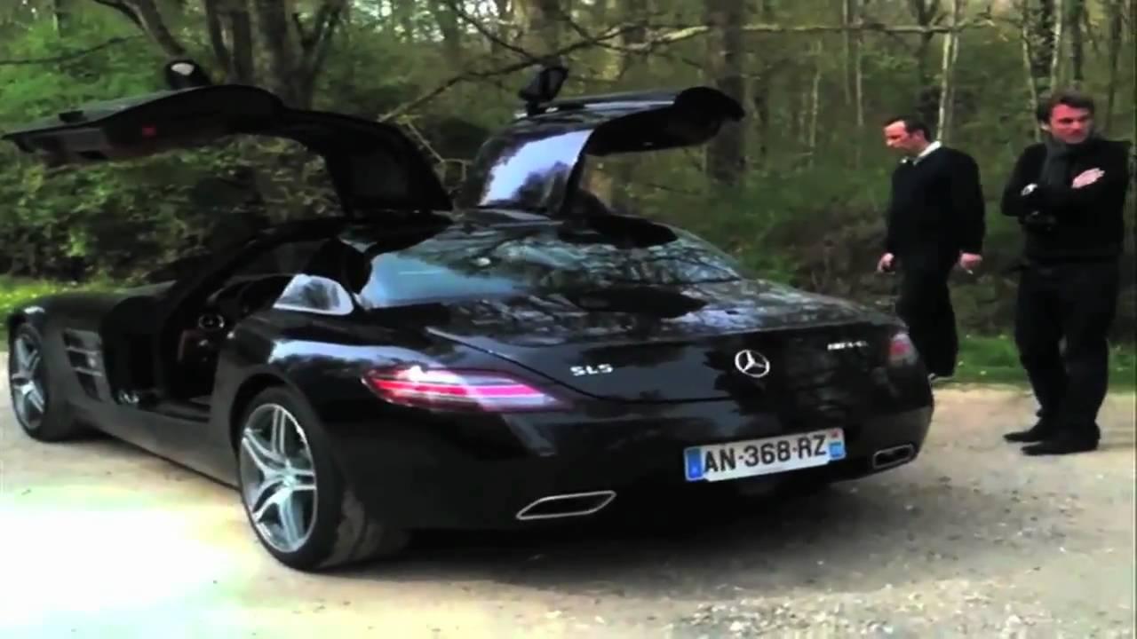 mercedes sls amg 2011 acceleration youtube