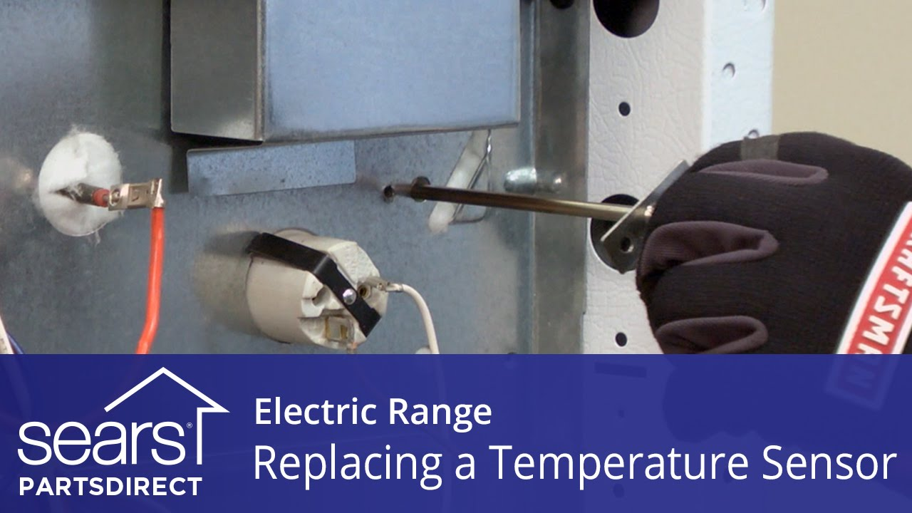 How to replace an oven temperature sensor on an electric range