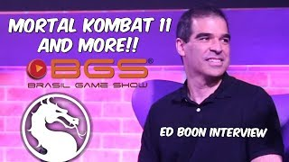 Mortal Kombat 11 Confirmed by Ed Boon!! Story & Other Game Ideas - Brasil Game Show Interview 2017
