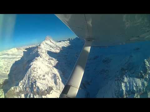Rundflug Berner-Alpen