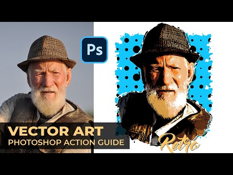 Vector Art Photoshop Action Guide