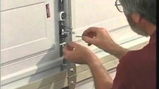 Martin Garage Door Keyed Center Lock System