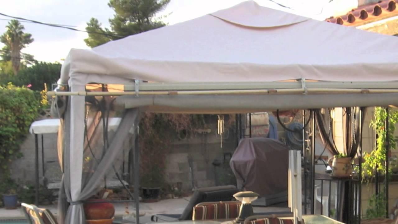 & Garden Winds Universal Gazebo Replacement Canopies part I - YouTube