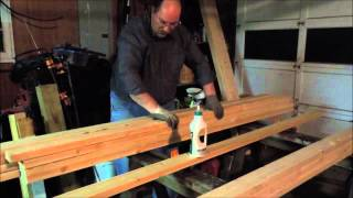 Building A New Workbench Part 4 - Laminating The Top - A Video Tutorial By Old Sneelock's Workshop