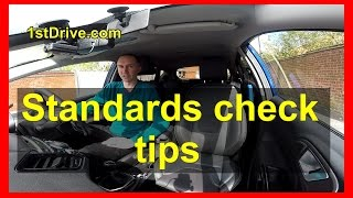 Standards check tips - how to pass your standards check