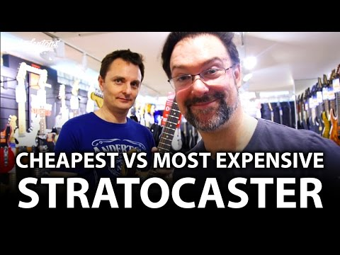 Download Youtube: Cheapest Squier Strat vs Most Expensive Fender Strat Challenge