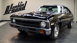 1972 Chevrolet Nova 355 V8 4 BBL Four-Speed