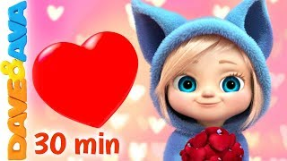 ❤️ Skidamarink 2 | Nursery Rhymes & Kids Songs | Best Baby Songs by Dave and Ava ❤️