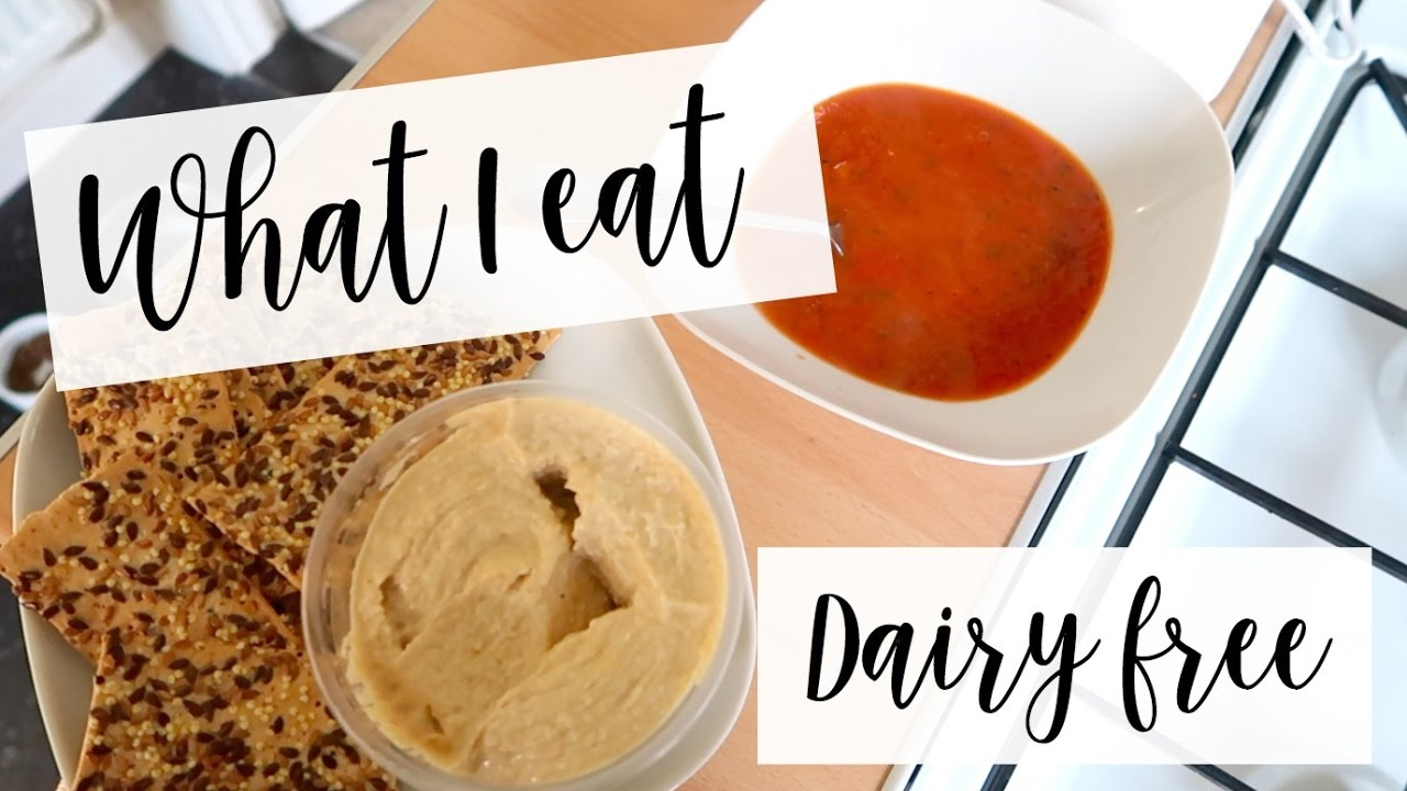 WHAT I EAT IN A DAY | DAIRY FREE - BREASTFEEDING