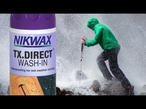 Nikwax TX.Direct Wash-in Product Overview