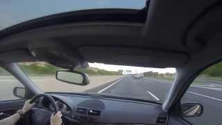 mercedes e320 cdi w211 meerbusch to bochum   autobahn   cruise 1
