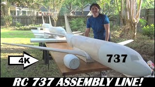 Video RC Airplane 737 MAX Assembly Line [4K] download MP3, 3GP, MP4, WEBM, AVI, FLV Agustus 2018