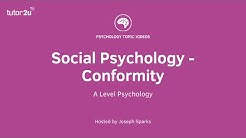 Social Psychology - Conformity
