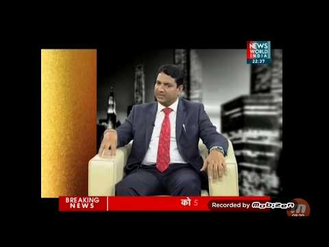 Exclusive interview of Mr.B.Singh (CMD,Made Easy) with Aman Verma on News World India