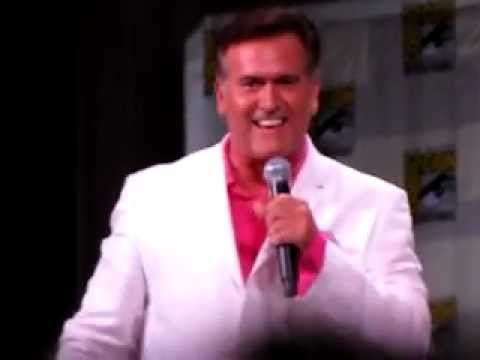 Bruce Campbell Imitating Jeffrey Donovan from Burn Notice