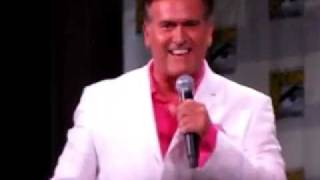 Bruce Campbell Imitating Jeffrey Donovan from Burn Notice