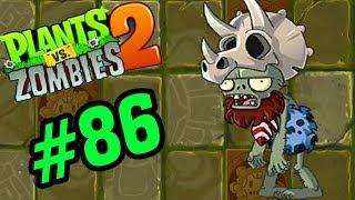 ✔️ZOMBIE ĐỘI MŨ KHỦNG LONG BA SỪNG - Plants Vs Zombies 2 Tập 86 - Hoa Quả Nổi Giận 2 Android, Ios