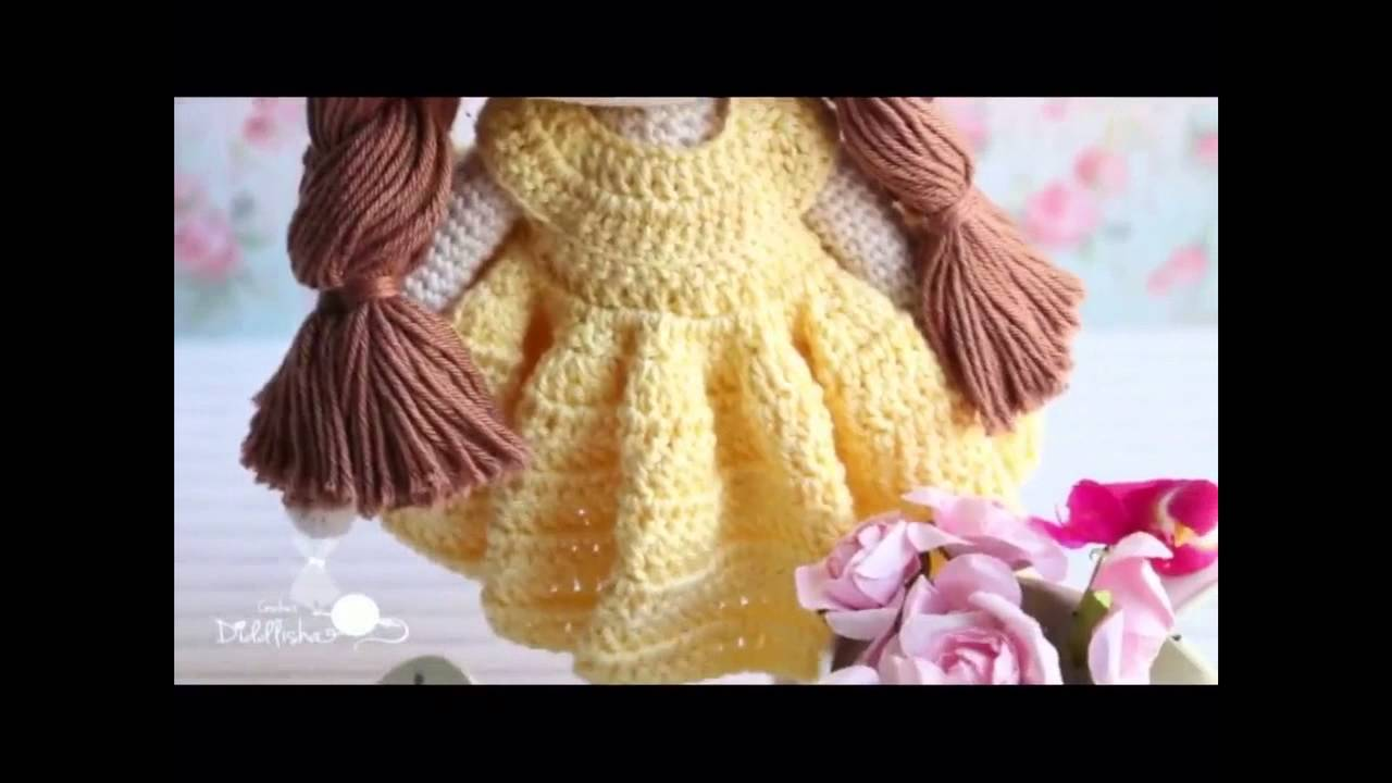 My Crochet Doll Diddlisha Shahad Youtube