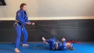 "Jiu-Jitsu Partner workouts with Resistance Bands-""Core & Leg Special""-BJJ exercises for everyone"