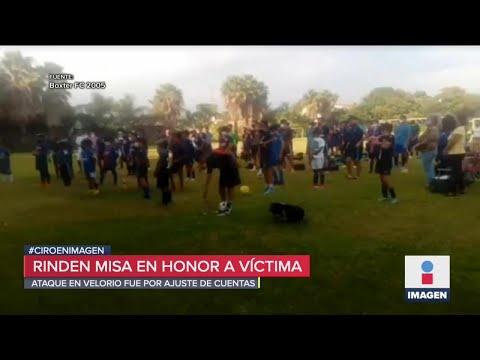Homenaje a futbolista asesinado en masacre de Cuernavaca | Noticias con Ciro Gómez Leyva