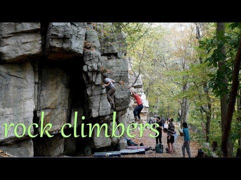 Rock Climbers - Mohonk Preserve