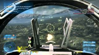 BF3: Aggressive jet gameplay | 82-0 in 20 minutes | Caspian Border