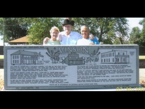 Vinson, Oklahoma Historical Monument by Willis Granite Products
