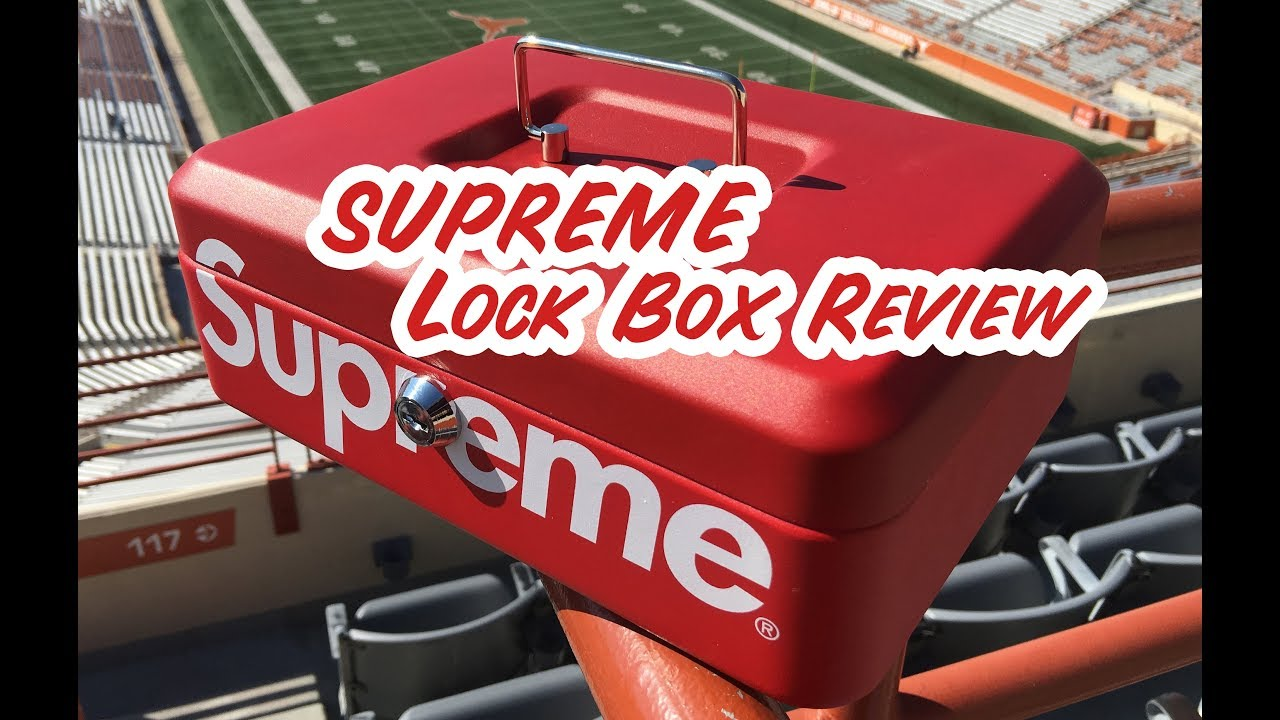 Supreme Lock Box Review