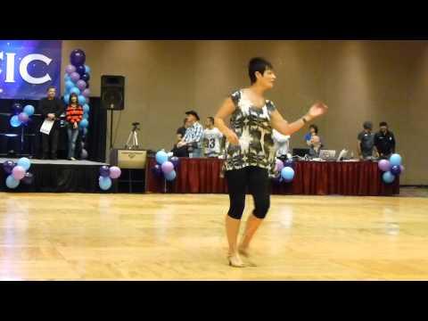 Morning Sun & Memories Line Dance Demo @ 2014 Vegas Dance Explosion