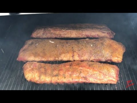How To Smoke Ribs Pit Boss Grills 700 Pellet Smoker